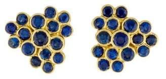 Ippolita 18K Sapphire Starlet Studs