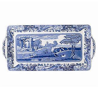 """Spode Blue Italian"""" Sandwich Tray, 13"""""""