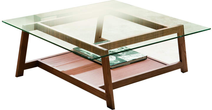 Cappellini Pacini e Rebus Coffee Table - Square - Cherry