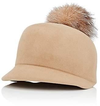 d7455259554 Lola Hats Women s Circa Pom Fur Hat - Camel
