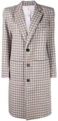 Tibi Zio plaid coat