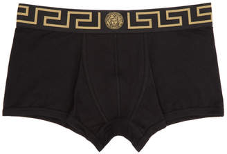 Versace Underwear Two-Pack Black Medusa Boxer Briefs