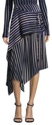 Diane von Furstenberg Draped Asymmetric Skirt