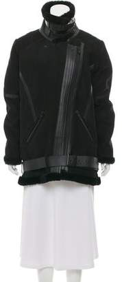 Rebecca Minkoff Suede Shearling Coat w/ Tags