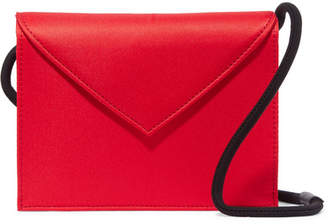 Elizabeth and James Pen Pal Satin Shoulder Bag - Red