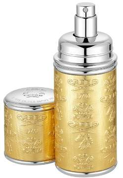 Creed Deluxe Leather & Silver-Tone Bottle Atomizer