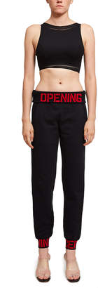 Opening Ceremony Oc Elastic Logo Fitted Sweatpant