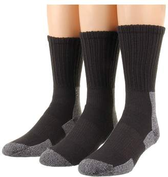 Thorlos Trail Hiking Crew 3 Pair Pack Women's Crew Cut Socks Shoes