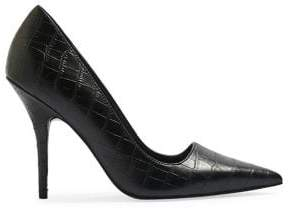 Topshop GAME Pointed Court Shoes