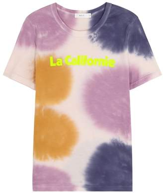 A.L.C. La Californie Tie-dye Cotton T