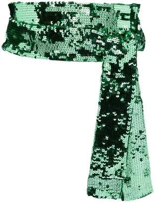 ATTICO embellished waist belt