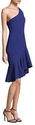 LIKELY Rollins Ruffle Knee-Length Dress