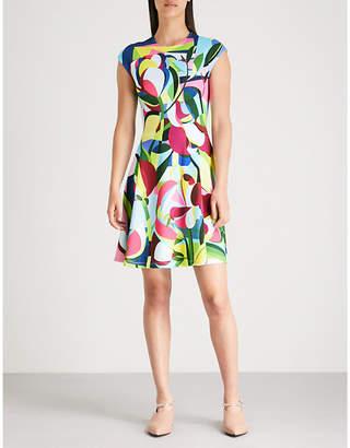 Mary Katrantzou Pinto abstract-print crepe dress