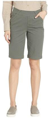 Jag Jeans Gracie Pull-On Bermuda Shorts Twill