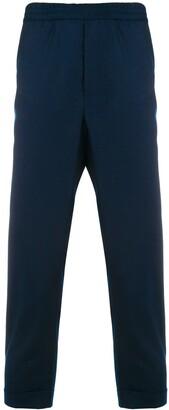 Ami Paris Elasticized Waist Trousers