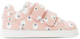 La Redoute COLLECTIONS Printed Touch 'n' Close Low Top Trainers