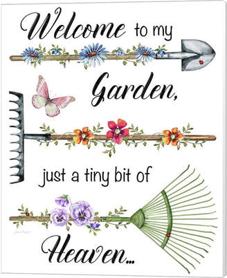 Garden Inspiration - E By Jean Plout Canvas Art