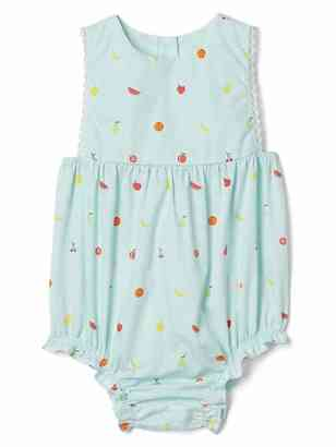 Fruity picot trim bloomer one-piece $29.95 thestylecure.com