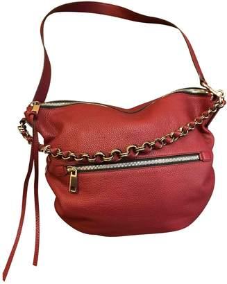 Marc Jacobs Burgundy Leather Handbag