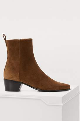 Pierre Hardy Reno suede booties