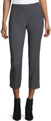 Tahari ASL Pinstriped Straight-Leg Pants