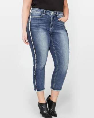 Addition Elle L&L Authentic Skinny Crop Jean with Exposed Seams