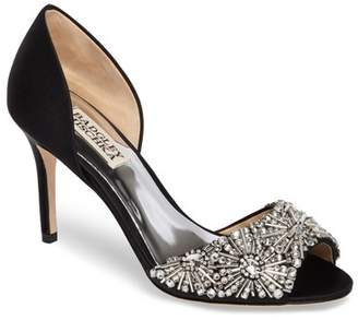 Badgley Mischka Maria Embellished d'Orsay Pump