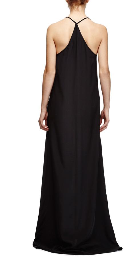 Thakoon Long Racerback Silk Dress