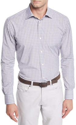 Neiman Marcus Men's Medium Tartan Plaid Sport Shirt