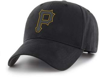 PITTSBURGH PIRATES MLB Black Mass Basic Adjustable Cap/Hat by Fan Favorite