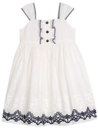 Laura Ashley Girl Eyelet Dress