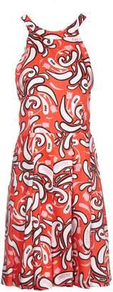 Dondup Paisley Print Dress