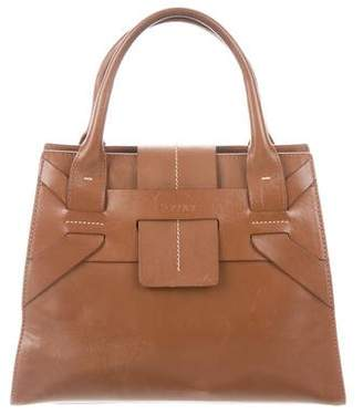 Pre Owned At Therealreal Pollini Leather Handle Bag