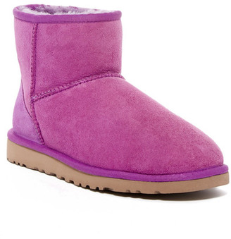 UGG Australia Classic Mini Dyed Genuine Lamb Fur Lined Boot $134.95 thestylecure.com