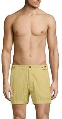 Flat-Front Swim Shorts