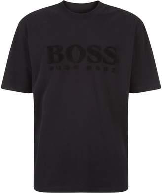 BOSS ORANGE Towelling Logo T-Shirt