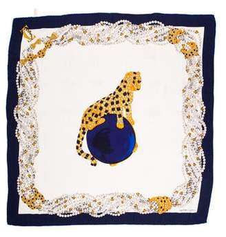 Cartier Silk Square Scarf