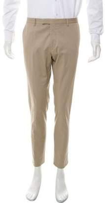 Gucci Flat-Front Chino Pants