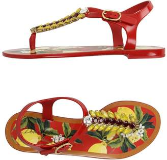 Dolce & Gabbana Toe strap sandals - Item 11196251RT