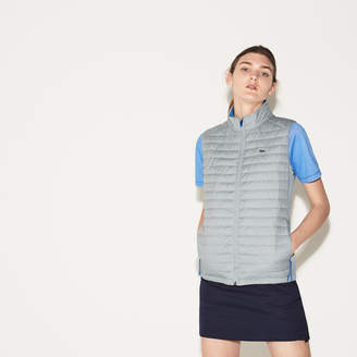 Lacoste Women's SPORT Golf Quilted Vest