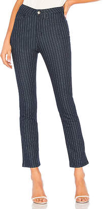 by the way. June Striped Jeans.