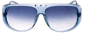 Cesare Paciotti Gradient Aviator Sunglasses