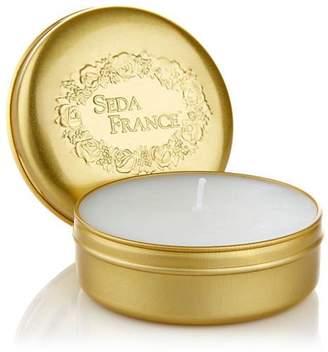 Seda France Classic Toile Rhubarb Pear Travel Candle