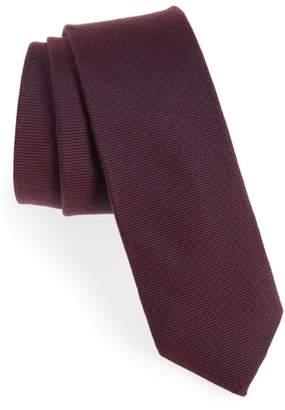1901 Primrose Solid Wool & Silk Tie