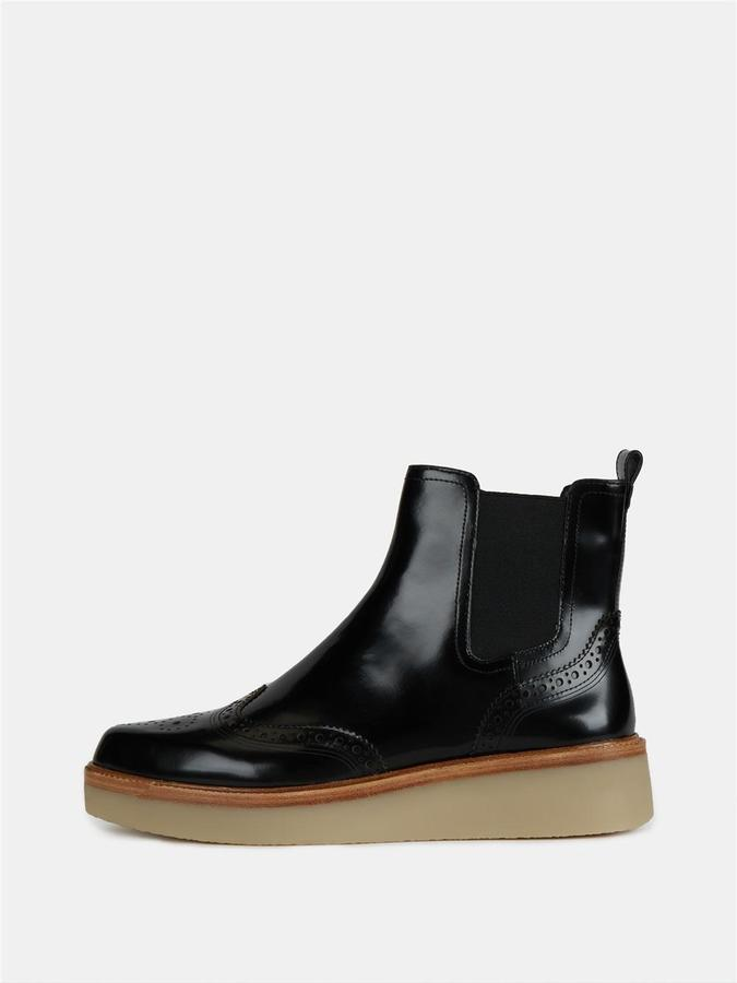 DKNYKali Brogue Bootie With Rubber Sole