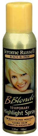 Jerome Russell B Blonde Temporary Highlight Spray Beach Blonde