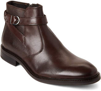 Joseph Abboud Brown Bodie Leather Boots