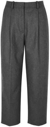 Acne Studios Grey Cropped Wool