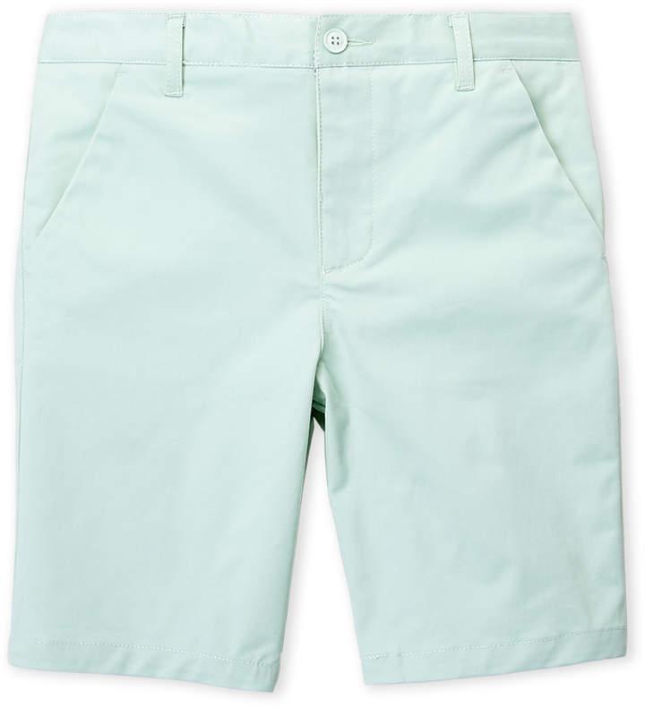 Boys 8-20) Solid Tone Shorts