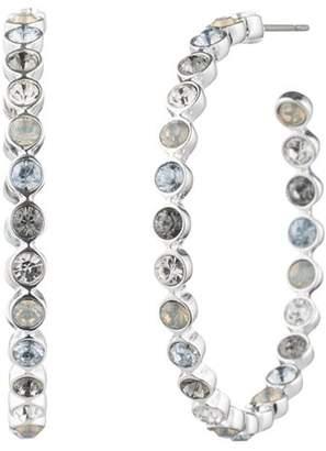 Aqua Multicolor Hoop Earrings - 100% Exclusive